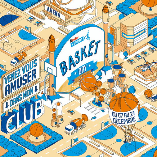 6ème édition du Kinder Day Basket